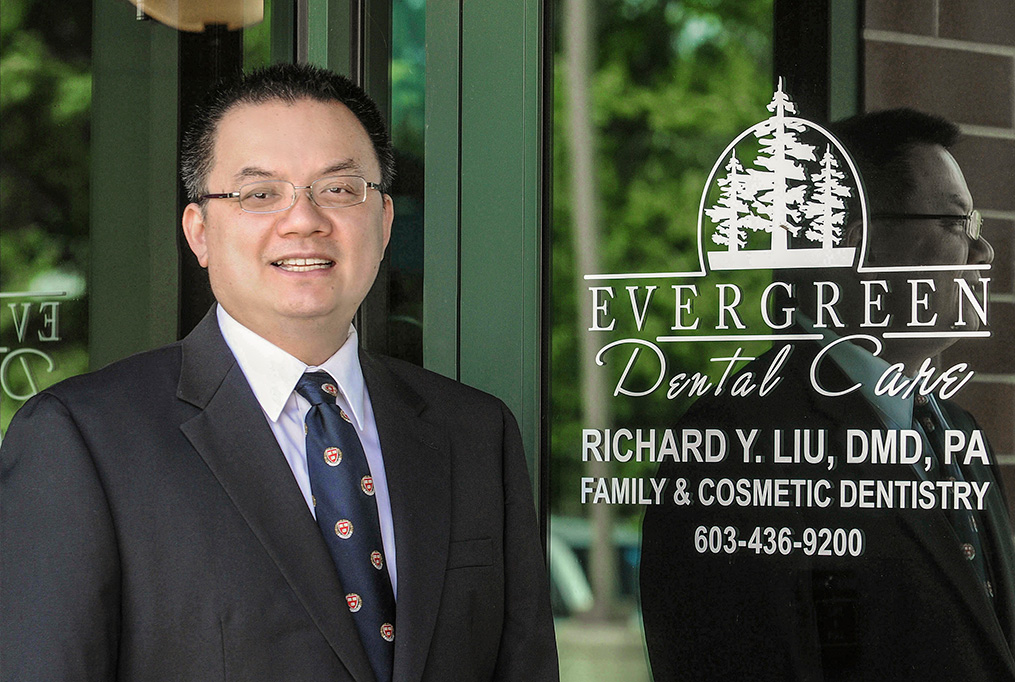 Dr. Richard Liu, DMD, M.Med.Sc. of Evergreen Dental Care