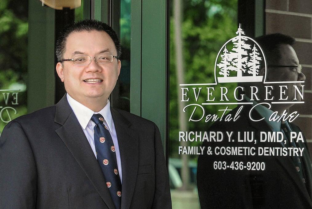 Dr. Richard Liu, DMD, M.Med.Sc. of Evergreen Dental Care