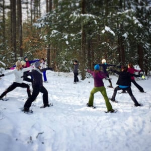 Snowshoe Yoga @ Prescott Farm Environmental Education Center | Laconia | New Hampshire | United States