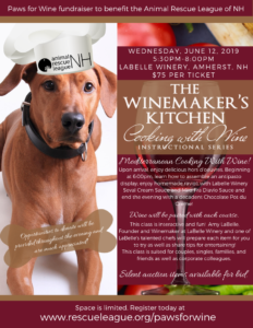 Paws for Wine Fundraiser to Benefit the Animal Rescue League of NH @ LaBelle Winery | Amherst | New Hampshire | United States