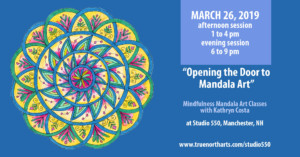Introduction to Mandala Art Class @ Studio 550 | Manchester | New Hampshire | United States