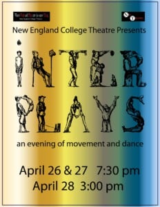 Inter Plays: An Evening of Movement and Dance @ Mainstage Theatre, Science Building | Henniker | New Hampshire | United States
