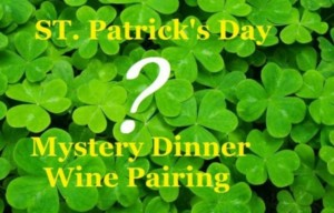 """The St. Patrick's Day Mystery"" @ Averill House Vineyard 
