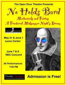"No Holds Bard: A Fractured ""Midsummer Night's Dream"" @ John Lyons Center 