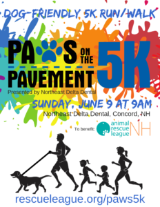 Paws on the Pavement 5K @ Northeast Delta Dental | Concord | New Hampshire | United States