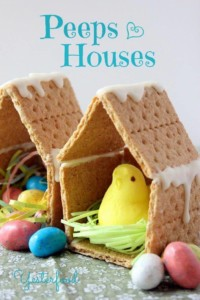 Easter Centerpieces: Peep Houses and Veggie Bouquets @ Local Baskit   Concord   New Hampshire   United States