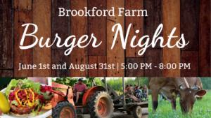 Burger Night at Brookford Farm @ Brookford Farm  | Canterbury | New Hampshire | United States