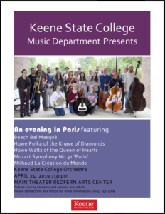 Ensemble Recital Series @ Redfern Arts Center, Keene State College   Keene   New Hampshire   United States