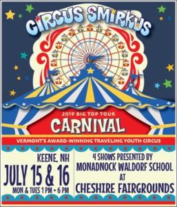 Circus Smirkus @ Cheshire Fairgrounds | Swanzey | New Hampshire | United States