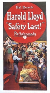 "Silent Film Series ""Safety Last"" @ The Flying Monkey 