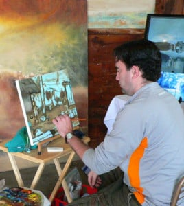 Art in Action @ Mack's Apple Farm Market   Londonderry   New Hampshire   United States