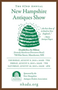 62nd New Hampshire Antiques Show @ The DoubleTree by Hilton | Manchester | New Hampshire | United States