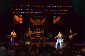 Great Escape - Journey Tribute Band @ Hampton Falls Bandstand