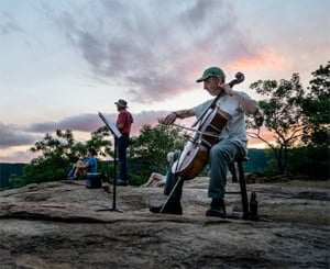 NH Music Festival: Musical Sunset Hike @ West Rattlesnake Moutain   Holderness   New Hampshire   United States