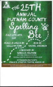 Musical - The 25th Annual Putnam County Spelling Bee @ The Jan Streeter Theater | Nashua | New Hampshire | United States