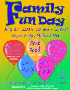 Milford's Annual Family Fun Day @ Keyes Memorial Field Park | Milford | New Hampshire | United States