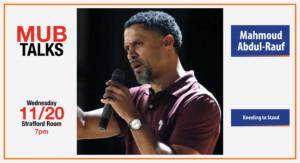 MUB Talks: Mahmoud Abdul-Rauf @ UNH Memorial Union Building Strafford Room | Durham | New Hampshire | United States