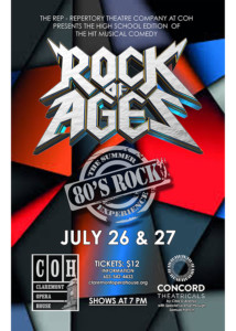 """Rock of Ages"" @ Claremont Opera House 