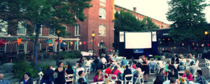 Cochecho Arts Festival - Dinner & A Movie Series @ Cocheco Mill Courtyard | Dover | New Hampshire | United States