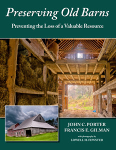 Preserving Old Barns with John C. Porter @ Gibson's Bookstore | Concord | New Hampshire | United States