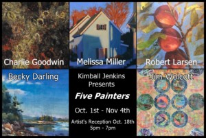 Five Painters @ KImball Jenkins
