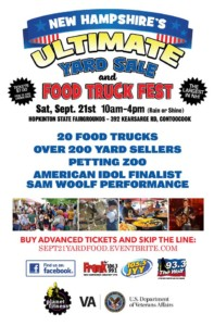Sam Woolf @ NH's Ultimate Food Truck Festival @ Hopkinton Fairgrounds | Hopkinton | New Hampshire | United States