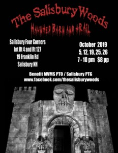 The Salisbury Woods Haunted Barn and Trail @ The Salisbury Woods Haunted Barn and Trail | Salisbury | New Hampshire | United States