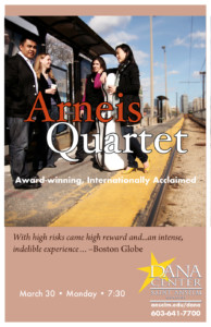Arenas Quartet @ Dana Center Saint Anselm College | Manchester | New Hampshire | United States