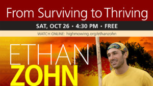 From Surviving to Thriving: A Presentation by Ethan Zohn @ High Mowing School | Wilton | New Hampshire | United States