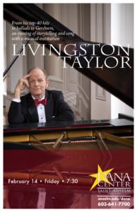 Livingston Taylor @ Dana Center Saint Anselm College | Manchester | New Hampshire | United States