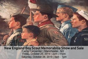 Boy Scout Memorabilia Show @ Camp Carpenter