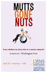 Mutts Gone Nuts @ Dana Center Saint Anselm College | Manchester | New Hampshire | United States