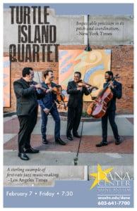 Turtle Island Quartet @ Dana Center Saint Anselm College | Manchester | New Hampshire | United States
