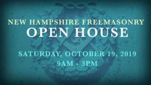 New Hampshire Freemasonry Open House @ Masonic Lodges across NH   New Hampshire   United States