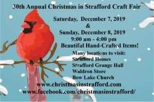 30th Annual Christmas in Strafford Craft Fair @ 30th Annual Christmas in Strafford Craft Fair | Strafford | New Hampshire | United States