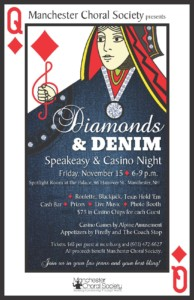 Diamonds and Denim @ Spotlight Room, Palace Theatre | Manchester | New Hampshire | United States