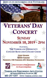 Veterans' Day Concert @ Timberlane Regional Performing Arts Center | Plaistow | New Hampshire | United States