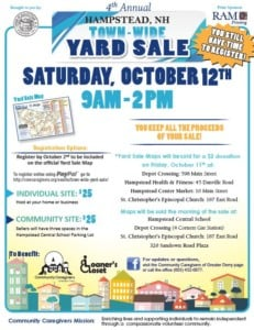Hampstead 4th Annual Town Wide Yard Sale @ Hampstead Central School | Hampstead | New Hampshire | United States