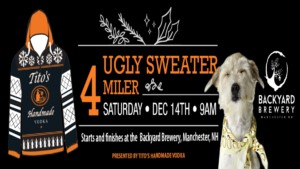 Ugly Sweater 4 Miler @ The Backyard Brewery | Manchester | New Hampshire | United States