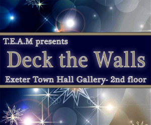 Deck the Walls @ Exeter Town Hall Gallery | Exeter | New Hampshire | United States