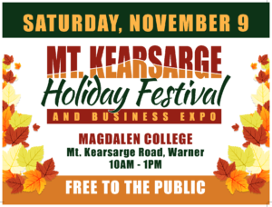Mt Kearsarge Holiday Festival and Business Expo @ Magdalen College | Warner | New Hampshire | United States