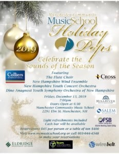 """Celebrate the """"Sounds of the Season"""" @ Manchester Community Music School   Manchester   New Hampshire   United States"""