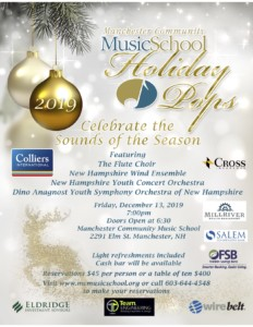 "Celebrate the ""Sounds of the Season"" @ Manchester Community Music School 