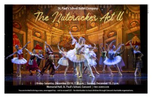 """""""The Nutcracker, Act II"""" @ St. Paul's School, Memorial Hall 