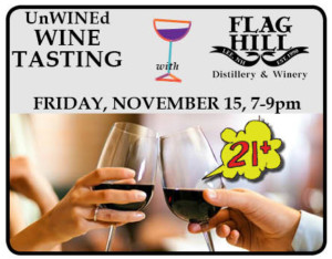 UnWINEd: Wine Tasting with Flag Hill Winery @ Children's Museum of New Hampshire | Dover | New Hampshire | United States