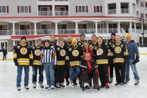 Skate With the Bruins: Fundraiser for New England Disabled Sports @ The Rink at RiverWalk Resort at Loon Mountain   Lincoln   New Hampshire   United States