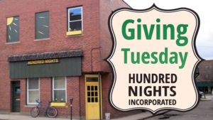 Giving Tuesday With Hundred Nights @ Hundred Nights Inc | Keene | New Hampshire | United States