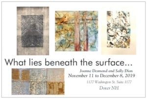 "Dover Art Center Presents: ""What Lies Beneath the Surface"" @ The Art Center of Dover 