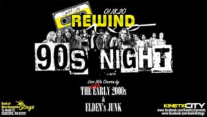 Capitol City Rewind '90s Night @ The Bank of New Hampshire Stage | Concord | New Hampshire | United States