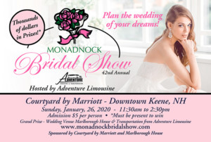 Monadnock Bridal Show @ Courtyard by Marriott | Keene | New Hampshire | United States